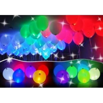 Светящиеся шары под потолок ассорти