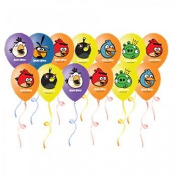 Шары под потолок Angry Birds ассорти