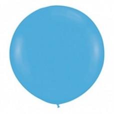 Шар большой Голубой пастель 100 см