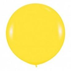 Шар большой Желтый пастель 100 см