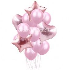 """Букет шаров """"Розовая нежность"""""""
