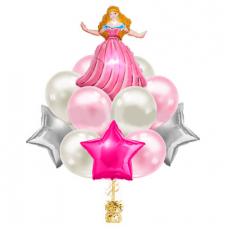 Букет шаров для девочки