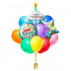 Набор из шаров на день рождения