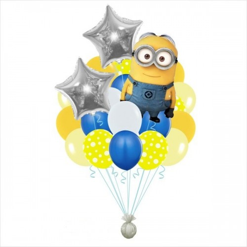 Набор воздушных шаров Миньоны 2