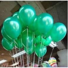 Облако зеленых шариков