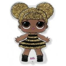 """Шар фигура """"Кукла LOL сияющая королева 86 см"""""""