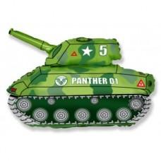 Шар Фигура Танк зеленый 81 см