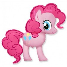 """Шар """"Пони"""" розовый 102 см"""