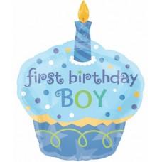 Большой торт с днем рождения для мальчика 90 см