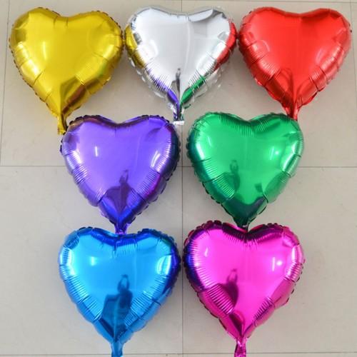Фольгированные шары Сердца ассорти