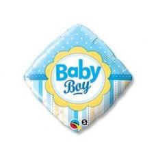 """Фольгированный шар """"Ромб Baby boy"""""""