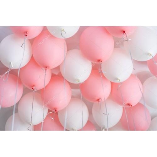 """Воздушные шары под потолок """"Для девочки"""""""