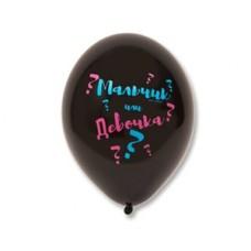 """Воздушные шары """"Мальчик или девочка?"""""""