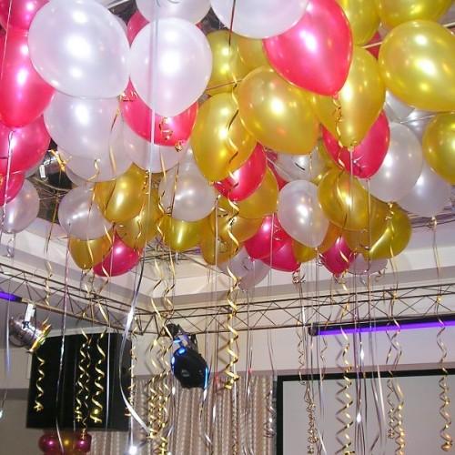 """Воздушные шары с гелием """"Розовое золото"""""""