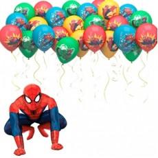 """Воздушные Шары под потолок """"Человек-паук"""""""