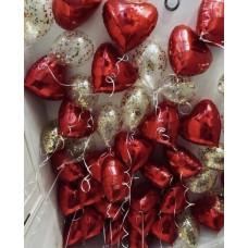"""Воздушные шары под потолок """"Любовь"""""""