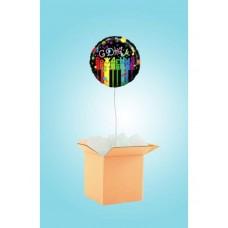 """Коробка с шаром """"С Днем рождения"""""""