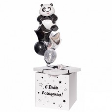 "Коробка с шарами ""Звездная панда"""
