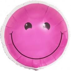 """Фольгированный шар """"Розовый смайл"""""""