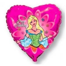 """Фольгированный шар """"С Днем Рождения, принцесса!"""""""