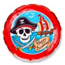 """Фольгированный шар """"Пиратский День Рождения"""""""