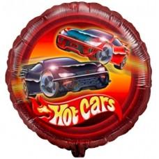 """Фольгированный шар """"Hot cars"""""""
