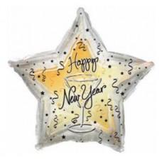 """Фольгированный шар """"Счастливого Нового Года!"""""""