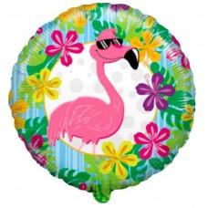 """Фольгированный шар """"Розовый фламинго"""""""