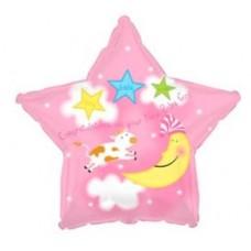 """Фольгированный шар """"Звезда для новорожденной"""""""