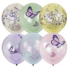 """Шарики  кристалл Bubble """"Бабочки"""""""