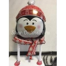 "Шар Новогодний ""Пингвин на ножках""  размер 86 см"