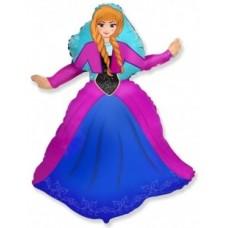 "Шар фигура ""принцесса Алексия"" 99 см"