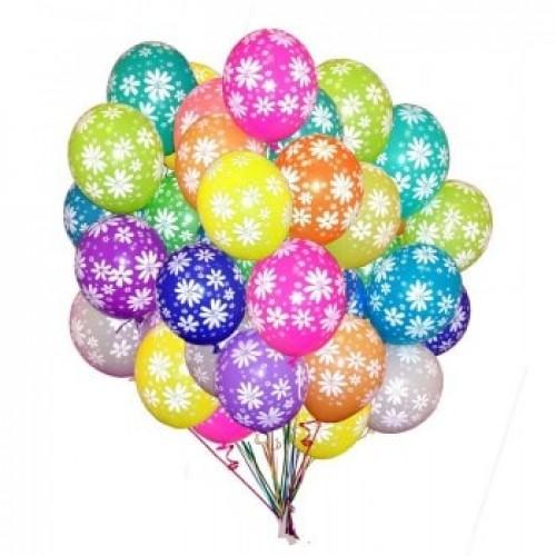 Воздушные шарики Ромашки