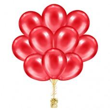 Облако красных шариков