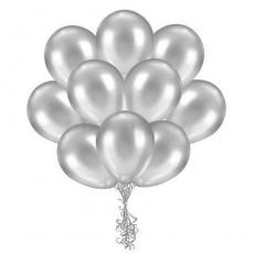 Облако серебряных шариков