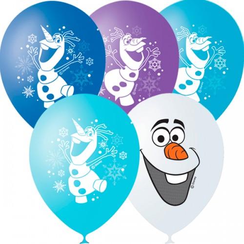 Воздушные шары с гелием  Дисней Снеговик Олаф