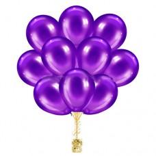 Облако шариков фиолетовые