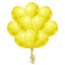 Облако желтых шариков