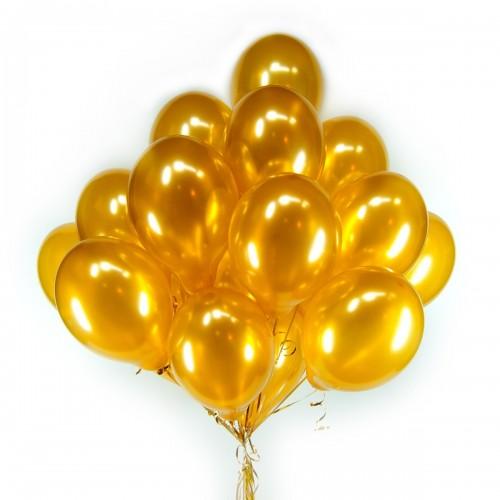 Облако золотых шариков