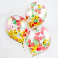 Прозрачные шары с конфетти (выбор)