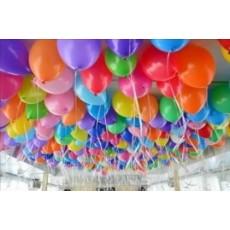 Воздушные шары под потолок  Ассорти
