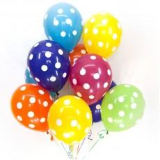 Воздушные шарики Точки
