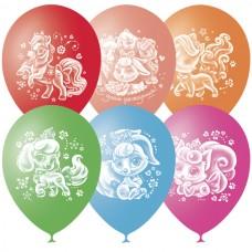 """Воздушные шарики """"Пушистые истории с днем рождения"""""""