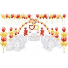Оформлениt воздушными шарами Свадьба №7