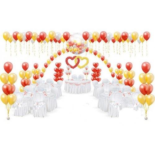 Оформление воздушными шарами Свадьба №7