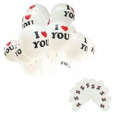 """Воздушные шары """"I love you"""""""