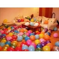 Воздушные  шары на пол