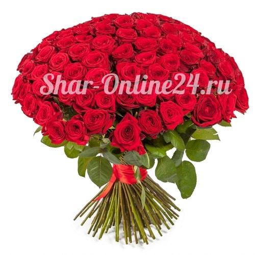 Букет красных роз Premium