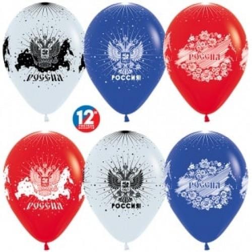 """Воздушные шары """"Россия, Триколор"""""""