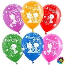 """Воздушные шары """"Удачи! Ассорти"""""""